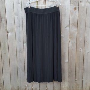 Lapis Women's Pull-ON Long Skirt Elastic waist